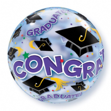 Congratulations Graduate Bubble Balloon